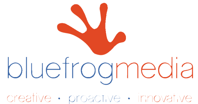 Blue Frog Media logo