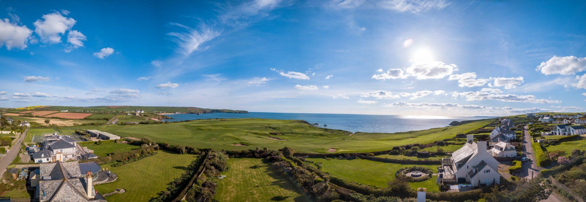 Seaside view properties